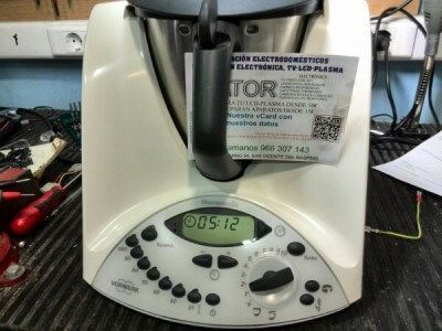 Thermomix tm-31 con error 32